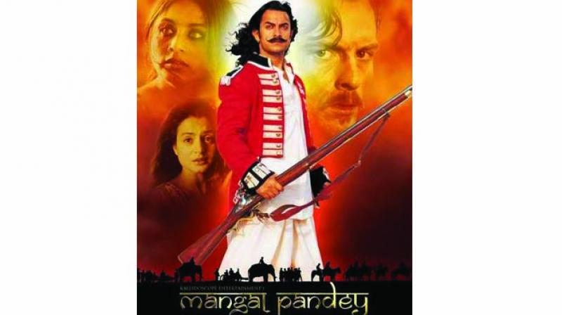 There is no doubt that the Indian Mutiny of 1857 began in a few places, one of them being Barrackpore where Mangal Pandey shot a British officer and was tried for murder and mutiny and hanged.