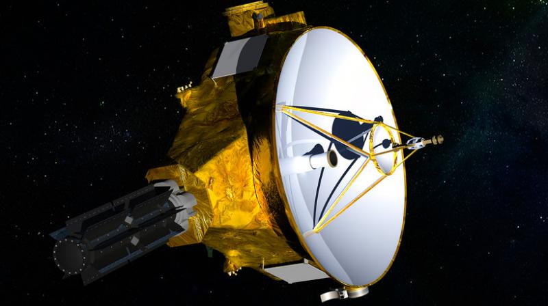 During a 2015 fly-by, the probe found Pluto to be slightly larger than previously thought. In March, it revealed methane-rich dunes on the icy dwarf planet's surface.