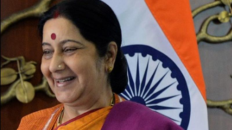 A tweet had earlier quoted, 'Govts may change, the cabinet may change, but Sushma Swaraj will go down as the most likeable cabinet ministers India has ever had.' (Photo: AFP)