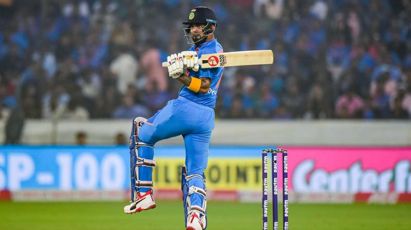KL Rahul said he is looking to make the most of the opportunities but doesn't want to worry about sealing his T20 World Cup berth. (Photo: PTI)