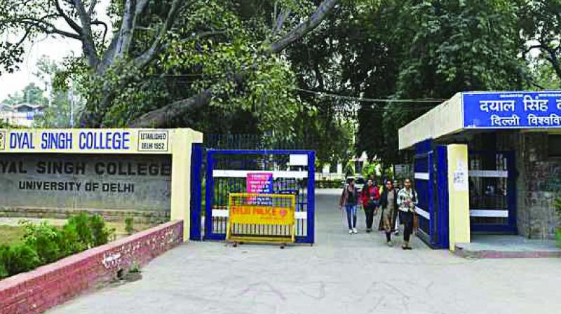 A controversy erupted with various sections vehemently opposing the move to rename the college.