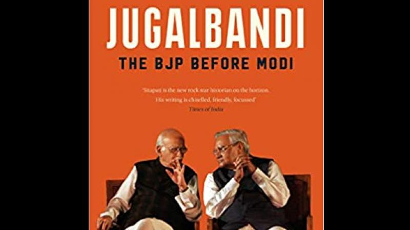 Cover page of 'Jugalbandi: The BJP Before Modi'