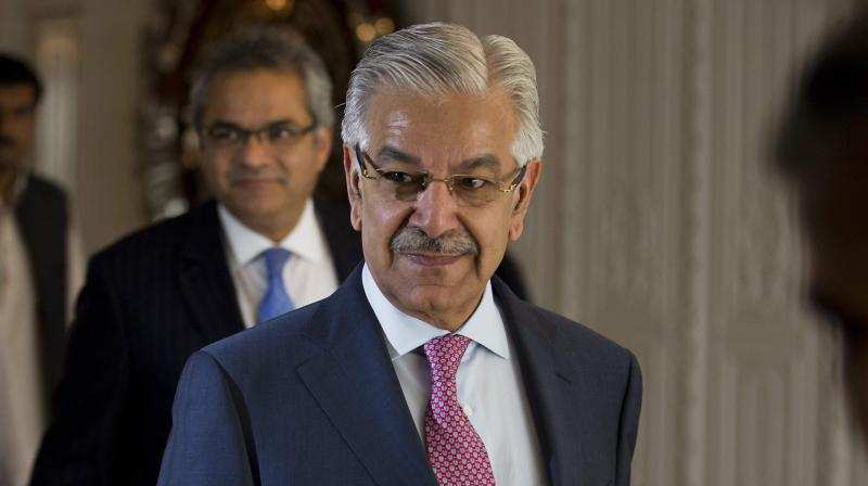 Pakistan Foreign Minister Khawaja Asif tweeted on Tuesday, 'Our efforts paid, FATF Paris 20 Feb meeting conclusion on the US-led motion to put Pakistan on the watch list.' (Photo: File)