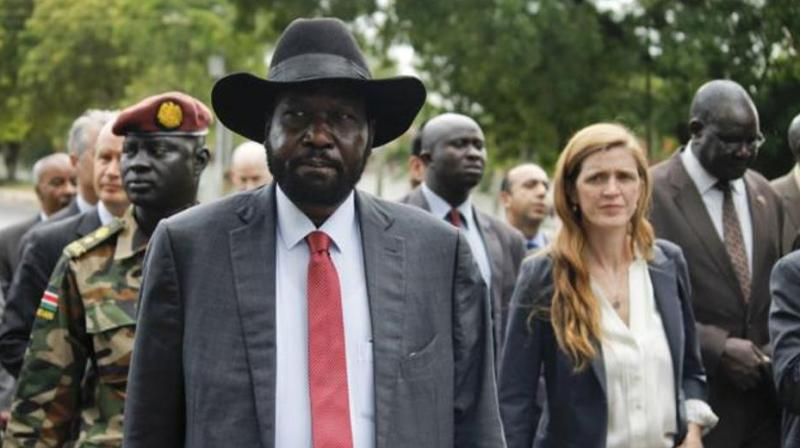 What began as a 'power struggle' between Kiir and former vice-president Riek Machar has fractured into an estimated 40 armed groups across the country, with many fighting each other. (Photo: AP)