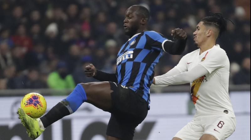 Inter Milan were held to a goalless draw by Roma at the San Siro, leaving the way open for Italian champions Juventus to reclaim top spot in Serie A this weekend. (Photo:AP)