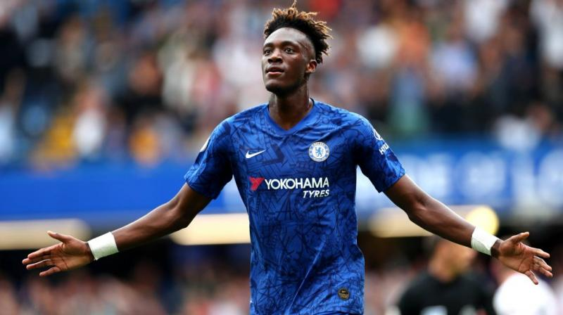 Tammy Abraham has emerged as Chelsea's talisman thanks to a breakthrough season that has taken his side to the brink of the Champions League last 16. (Photo:Twitter)