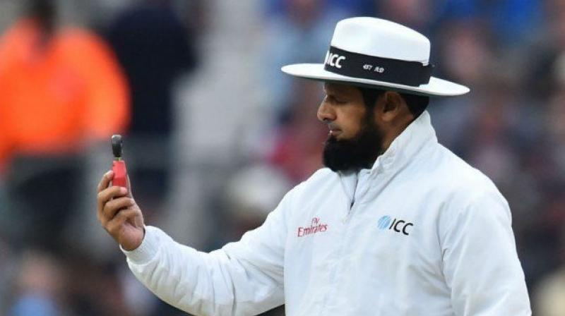 Aleem Dar has been a dedicated and consistent umpire over the years. (Photo:Twitter)