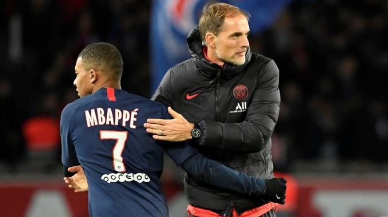 Paris Saint-Germain (PSG) manager Thomas Tuchel said the season so far has been 'very good' for the club.(Photo: AFP)