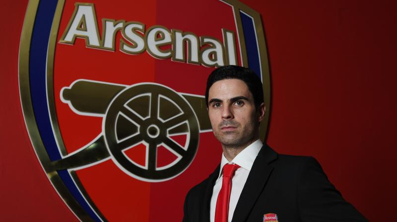 After taking charge as Arsenal's head coach, Mikel Arteta has named his core coaching team. (Photo: Twitter)