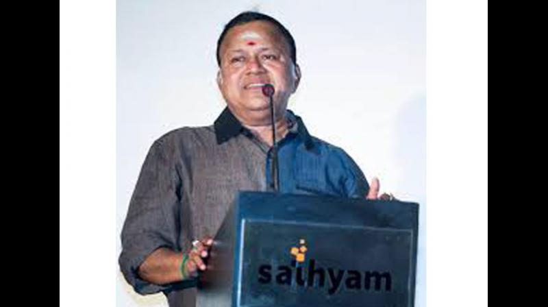Dravida Munnetra Kazhagam (DMK) general secretary K Anbazhagan on Monday suspended actor Radha Ravi (pic) from the party following his remarks against actor Nayanthara. (Photo: ANI)