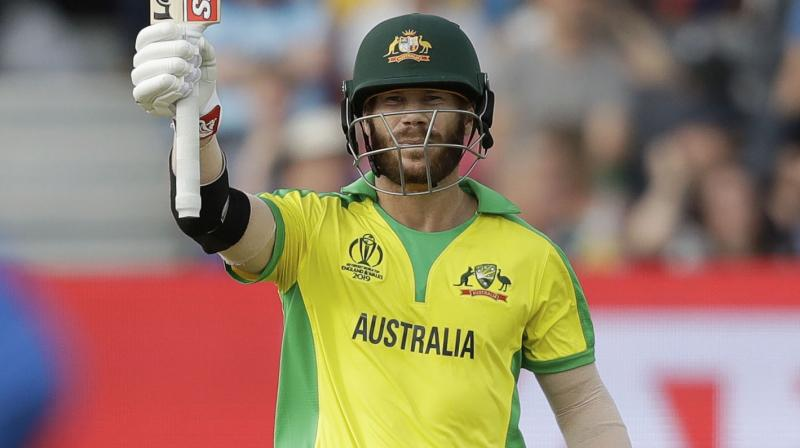 David Warner's bat sensor has revealed some interesting insights about how he is doing his homework against Bumrah.  (Photo: AP)