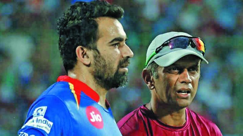 Zaheer Khan and Rahul Dravid