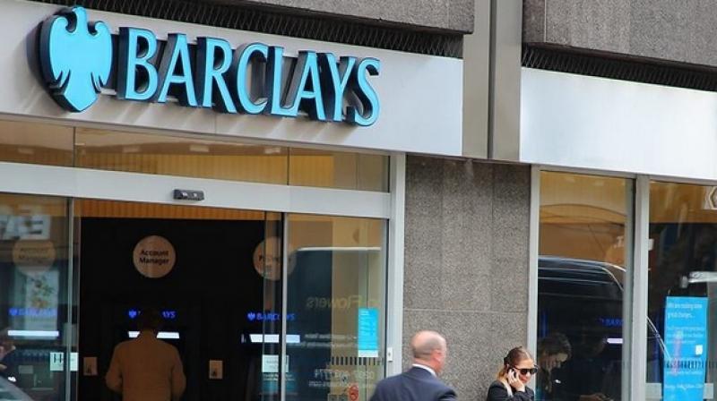 British lender Barclays Bank PLC. (AFP Photo)
