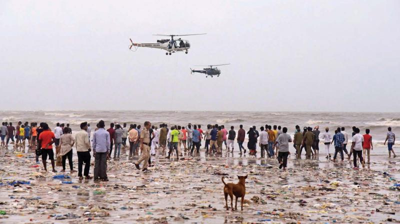 Search operation carried out on Thursday. (Photo: PTI)