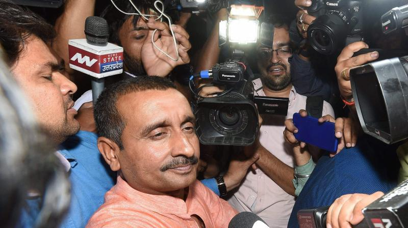 A Delhi court on Wednesday directed technology company, Apple, to give location details of expelled BJP MLA Kuldeep Singh Sengar on the day 17-year-old girl from Unnao was allegedly raped by him. (Photo: File)