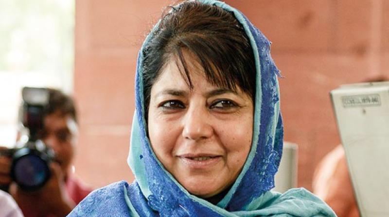 Jammu and Kashmir chief minister Mehbooba Mufti (Photo: ANI)