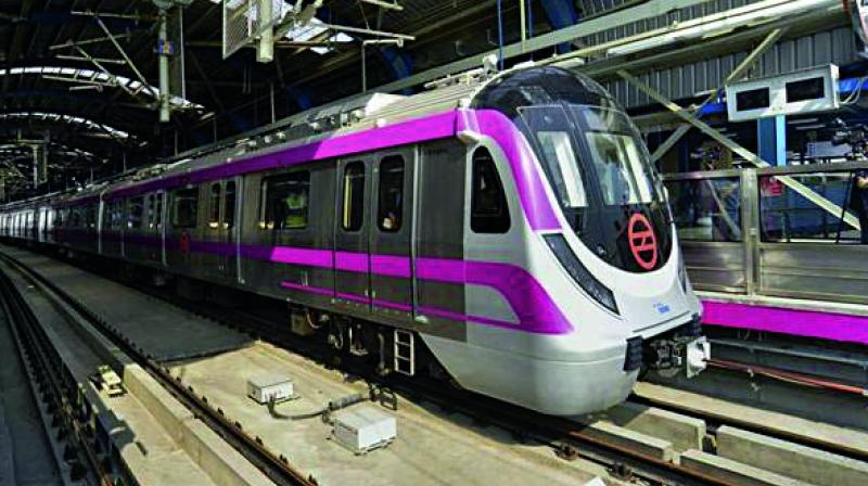 This is the first time that Metro train and high speed rail will run on the same track. (Representational image