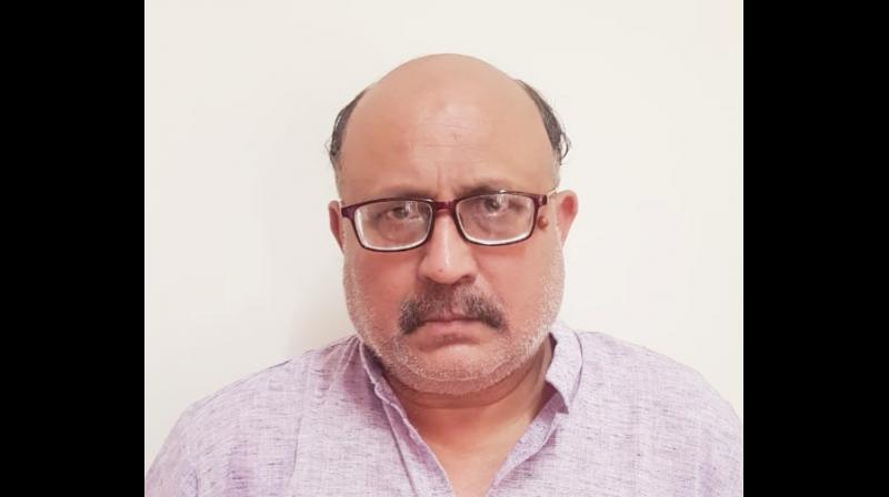 Journalist Rajeev Sharma