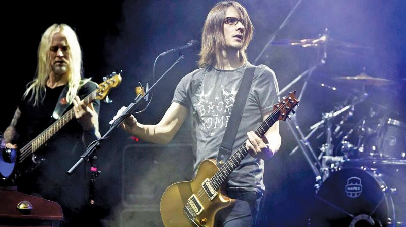 English musician and record producer Steven Wilson.