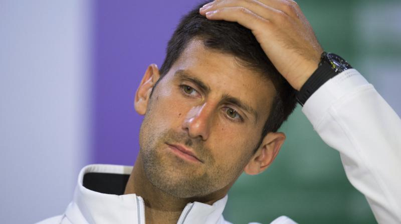 Djokovic had earlier this month announced that he would not play again this season due to an elbow injury. (Photo: AP)