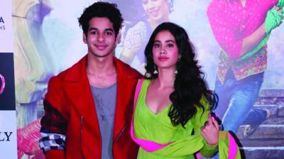 Ishaan Khattar and Janhvi Kapoor