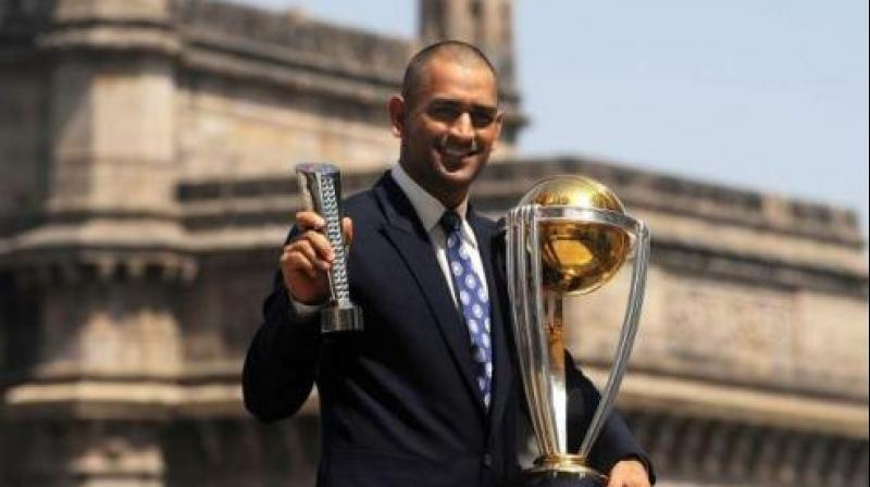 The International Cricket Council (ICC) on Wednesday asked fans to name their favourite captain of the decade and netizens patently picked Mahendra Singh Dhoni as their choice. (Photo:AFP)