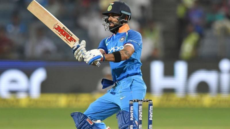 It was on December 24, 2009, when India skipper Virat Kohli registered his first century in the 50-over format of the game. (Photo:AFP)