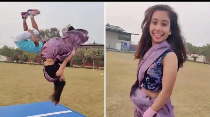 Parul Arora, gymnast from Ambala, Haryana
