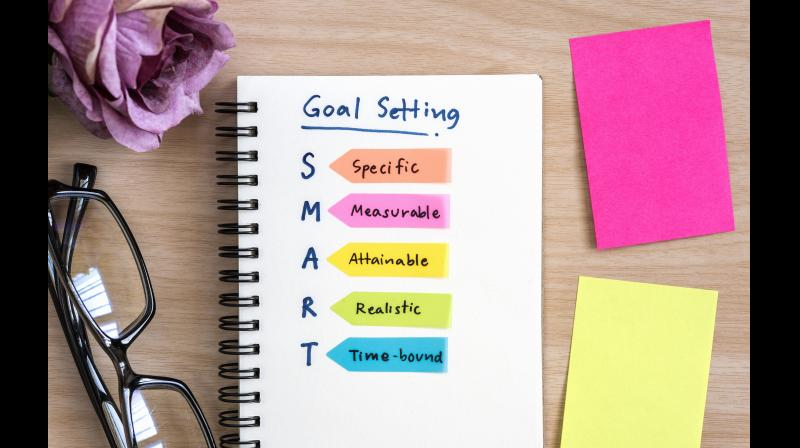 """Instead of formulating a vague goal such as """"I want to be fit in 2021,"""" be SMART about it. Say """"I will jog for 10 minutes, three times a week for three months."""""""