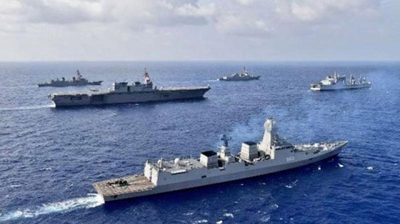 Indian Navy is already on high alert due to the India-China military stand-off in the Ladakh sector.