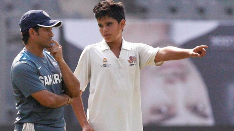 Arjun Tendulkar on previous occasions bowled to the Indian team in the nets be it during the Champions Trophy in England in 2017 or before the T20 versus Sri Lanka in December 2017. (Photo:PTI)