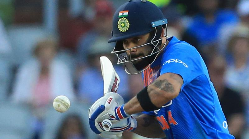 Virat Kohli played a crucial knock along with Rohit Sharma that turned the tide in India's favour. (Photo: AFP)