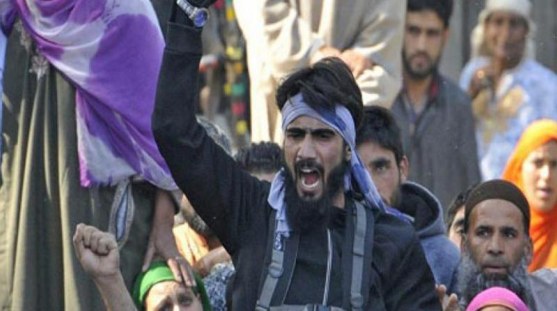 Hizbul Mujahideen militant spotted in funeral video surrenders in Jammu and Kashmir. (Photo: DC)
