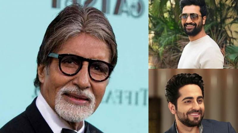 Vicky Kaushal and Ayushmann Khurrana received personalised hand-written notes from veteran actor couple Amitabh and Jaya Bachchan.