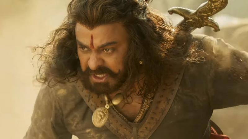 Screengrab from 'Sye Raa Narasimha Reddy' trailer. (Source: YouTube/ Excel Movies)