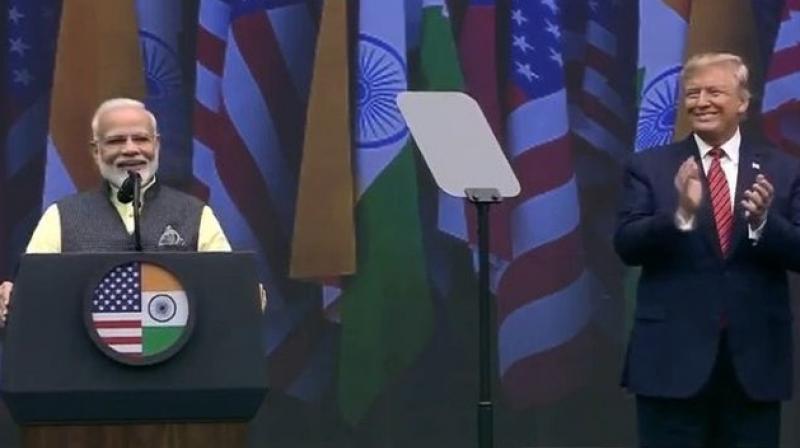 Still from 'Howdy, Modi'. (Photo source: Twitter)