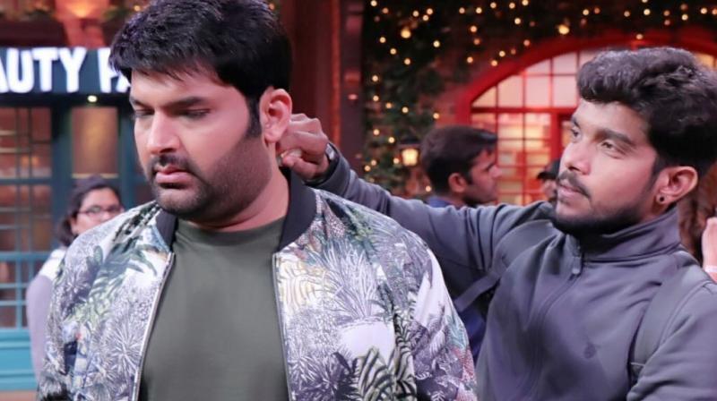 Pranay Parmar with Kapil Sharma