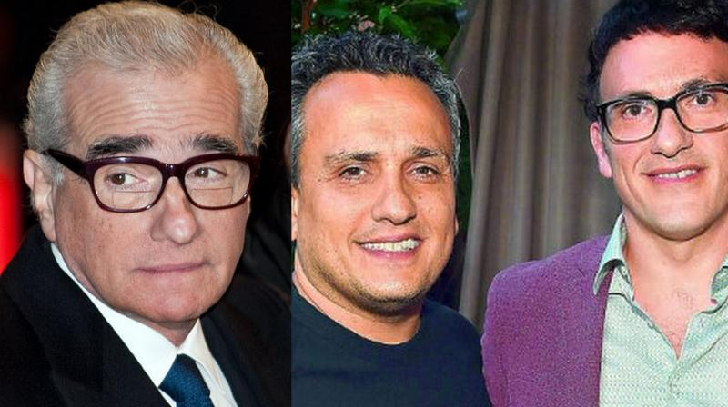 Martin Scorsese and Russo brothers.