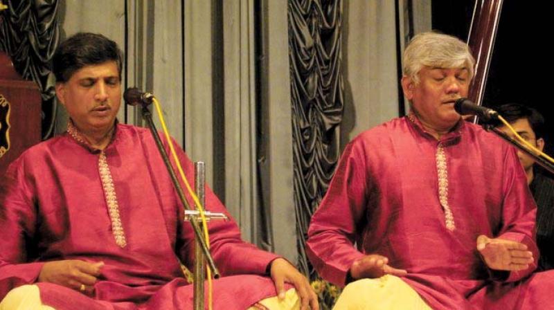 Ramakant (L) and Umakant (R) Gundecha