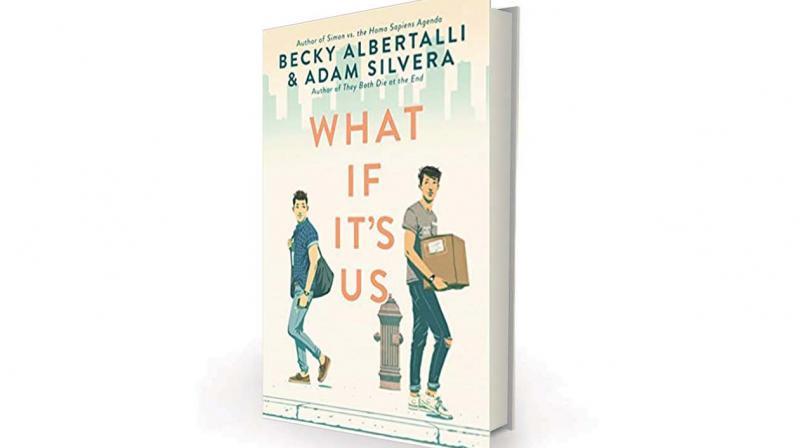 What If It's Us by Becky Albertalli, Adam Silvera, HarperTeen, Rs 1,445
