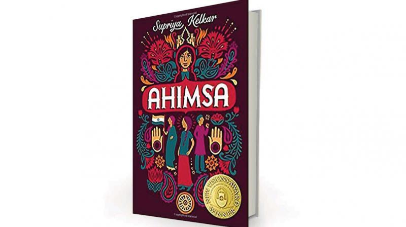 Ahimsa by Supriya Kelkar, Scholastic, Rs 395