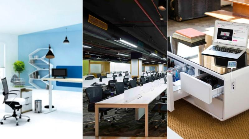 There are five types of furniture which are essential part of making work life easier by increasing functionality.