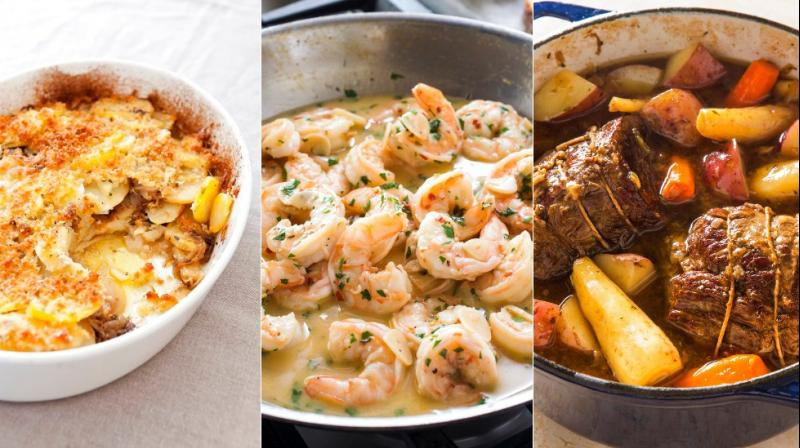 From scampi, to porchetta or even pot roast, here are edible dishes to satiate your taste buds. (Photos: AP)