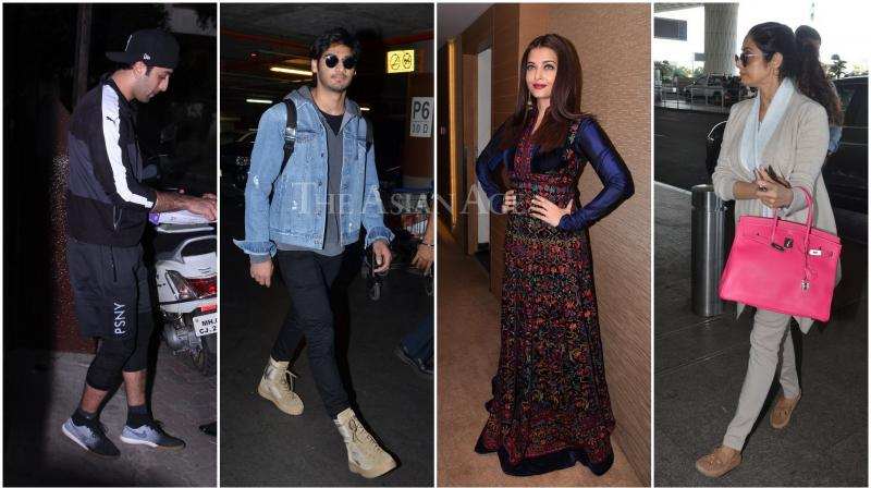 Bollywood stars sure do know how to carry themselves with panache and poise. (Photo: Viral Bhayani)