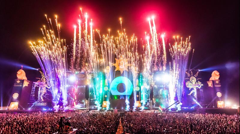 """Event saw the audience getting in a more euphoric mood  when the World No 1 DJ shouted out, """"India is like second home to me."""""""