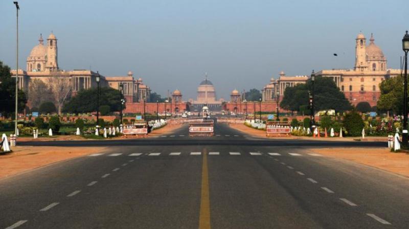 Rajpath in Delhi. (PTI File)