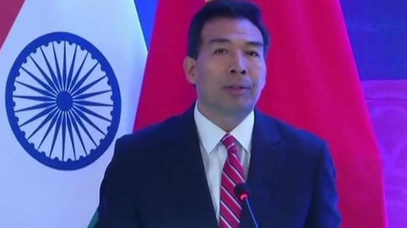 """How else can one explain the volte-face by Chinese ambassador to India Luo Zhaohui, who just three weeks after suggesting that there could be a positive outcome to India's demand for the designation of Pakistan-based Jaish-e-Mohammed chief Masood Azhar as a """"global terrorist"""" by the UN Security Council's 1267 Committee. (Photo: ANI)"""