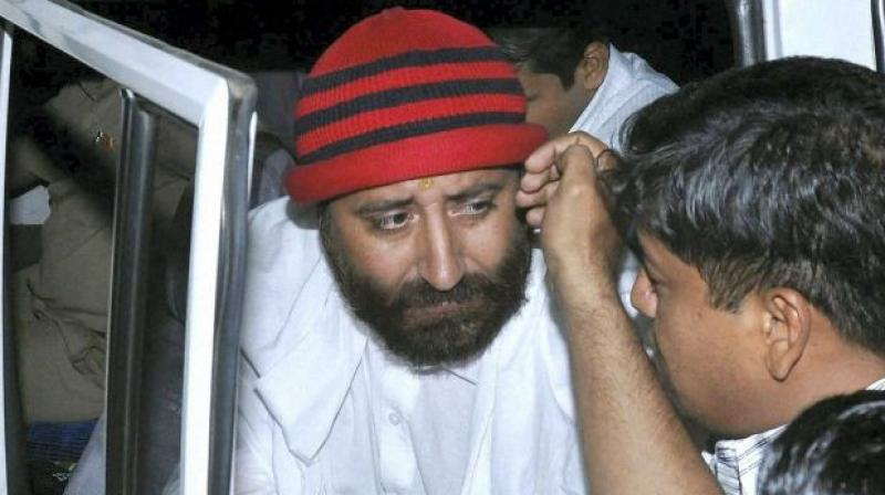 The sessions court in Surat which convicted Narayan Sai will pronounce the sentence on April 30. (Photo: AP I file)