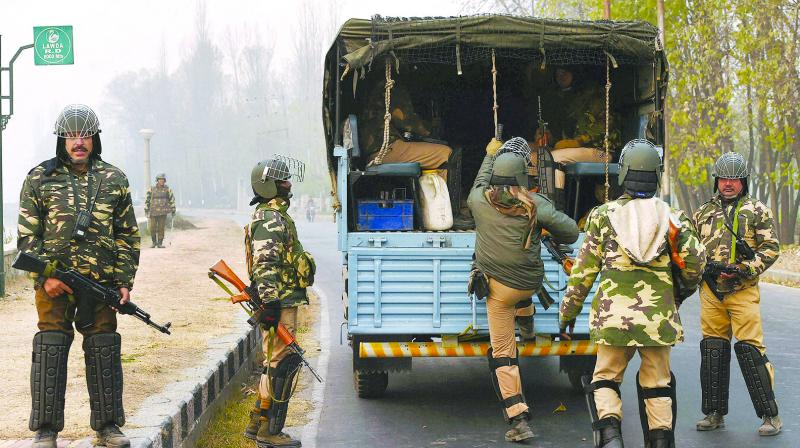 The additional deployment of 250 companies in the three states will done after withdrawing them from other duties and training. ( Photo: PTI)