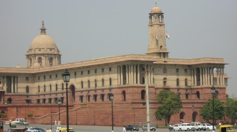 Indian Parliament (Image credit : Wikipedia)